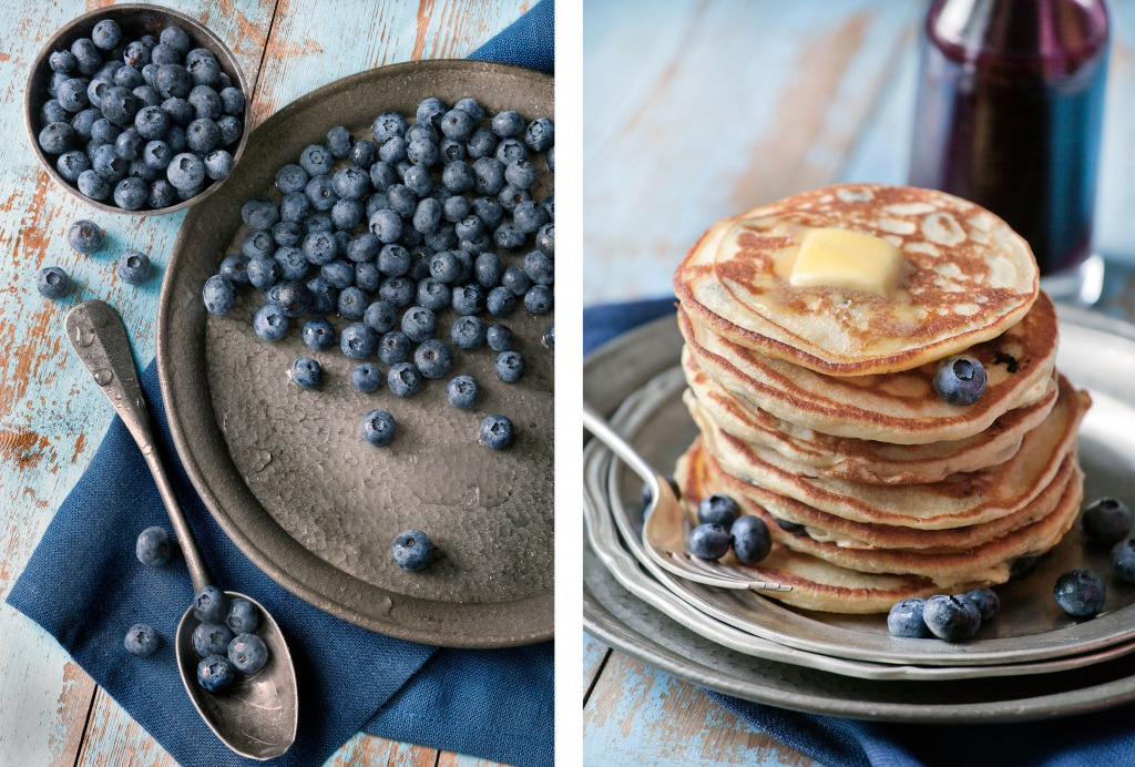 Julia Azzarello, professional food stylist, Style Department, blueberries