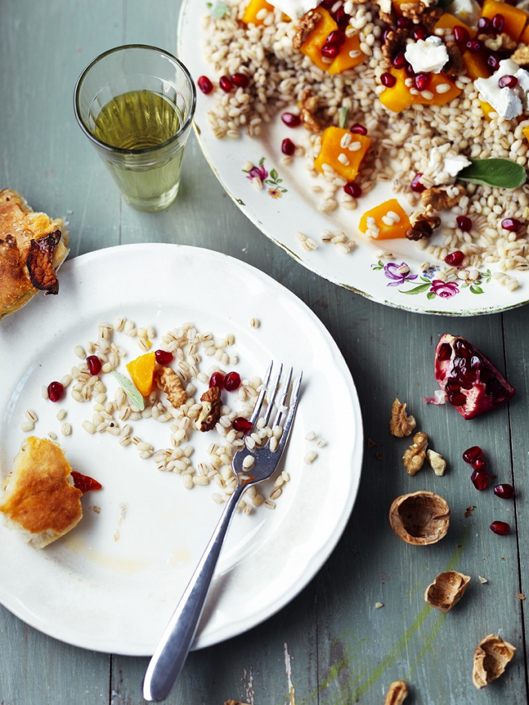 Sue Townsend, professional food stylist, Style Department, pearl barley