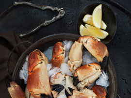 Julia Azzarello, professional food stylist, crab claws, food stylist, Style Department
