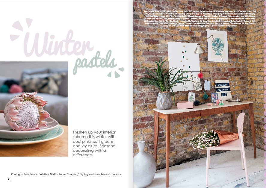 Laura Sawyer, Interior stylist, Food Stylist
