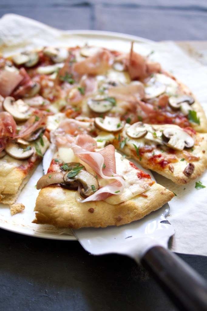 Alice Adams, Style Department food stylist,pizza funghi speck, Pizza Story