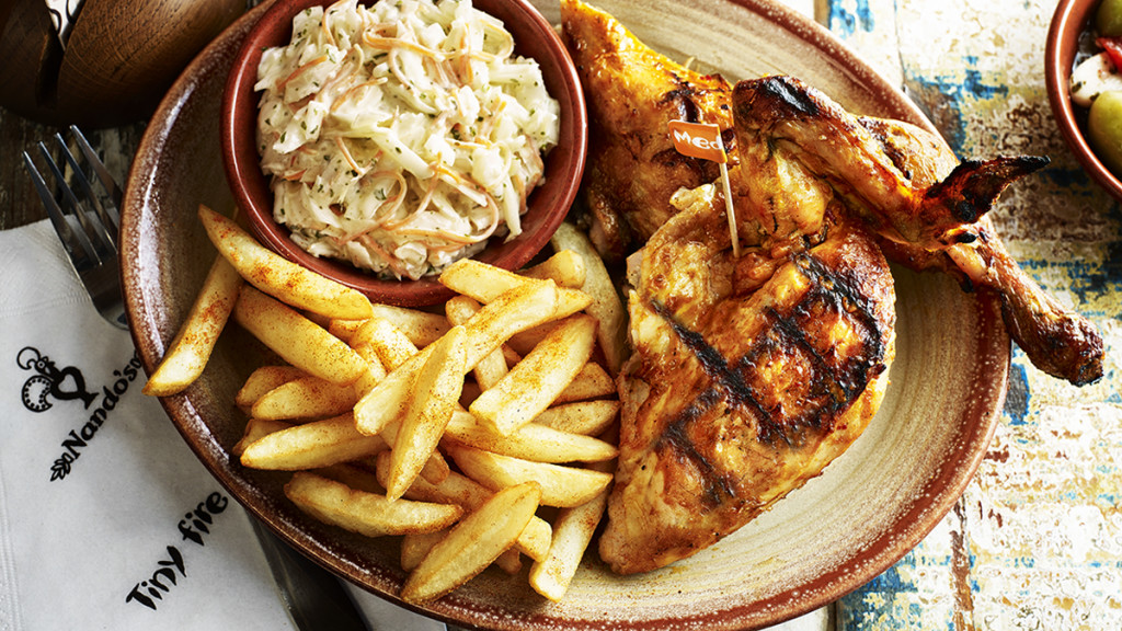 Olia Hercules, Professional Food stylist, Nando's, chicken, Kris Kirkham, Photographer