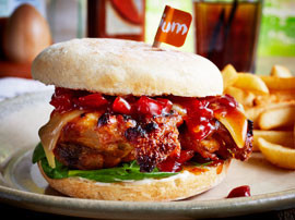 Food production, food photography, Steffi Knowles-Dellner, Professional Food Stylist, Nando's, London, Style Department
